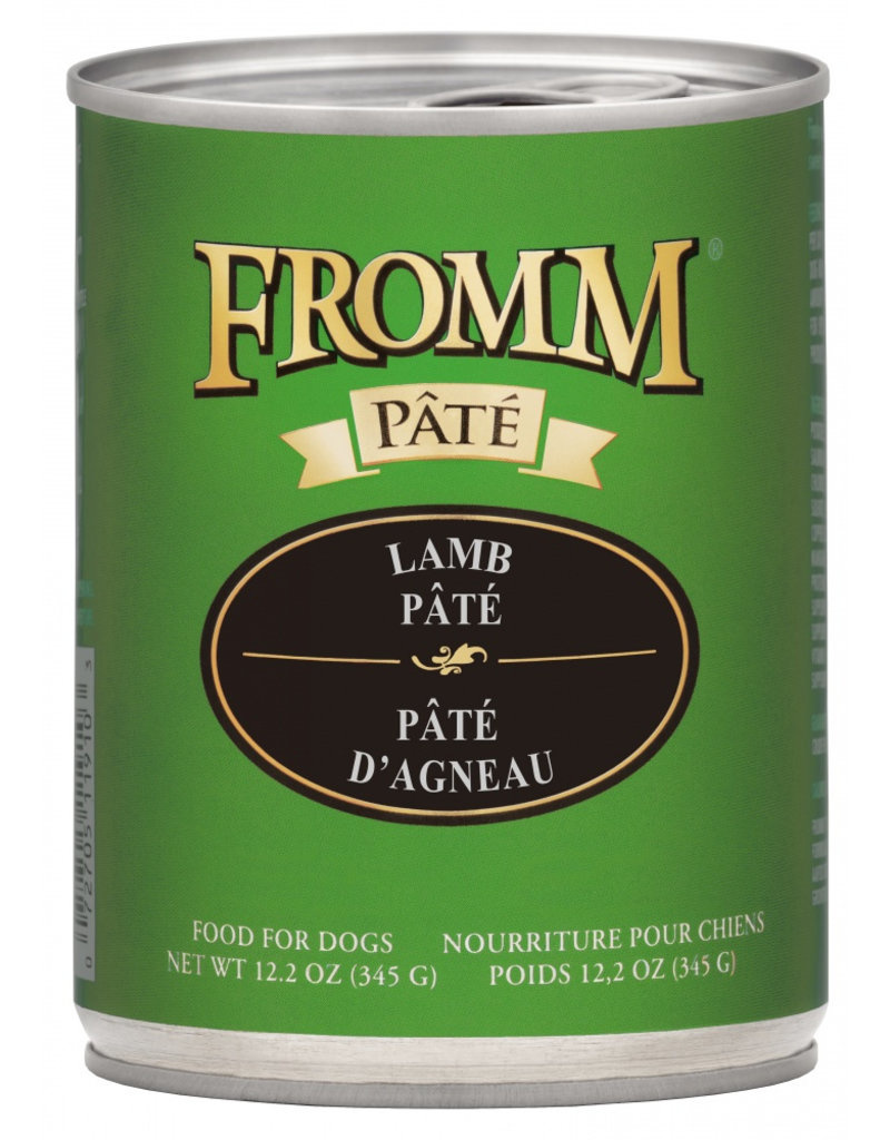 Fromm Family Foods LLC Fromm Dog Lamb Pate 12.2 oz