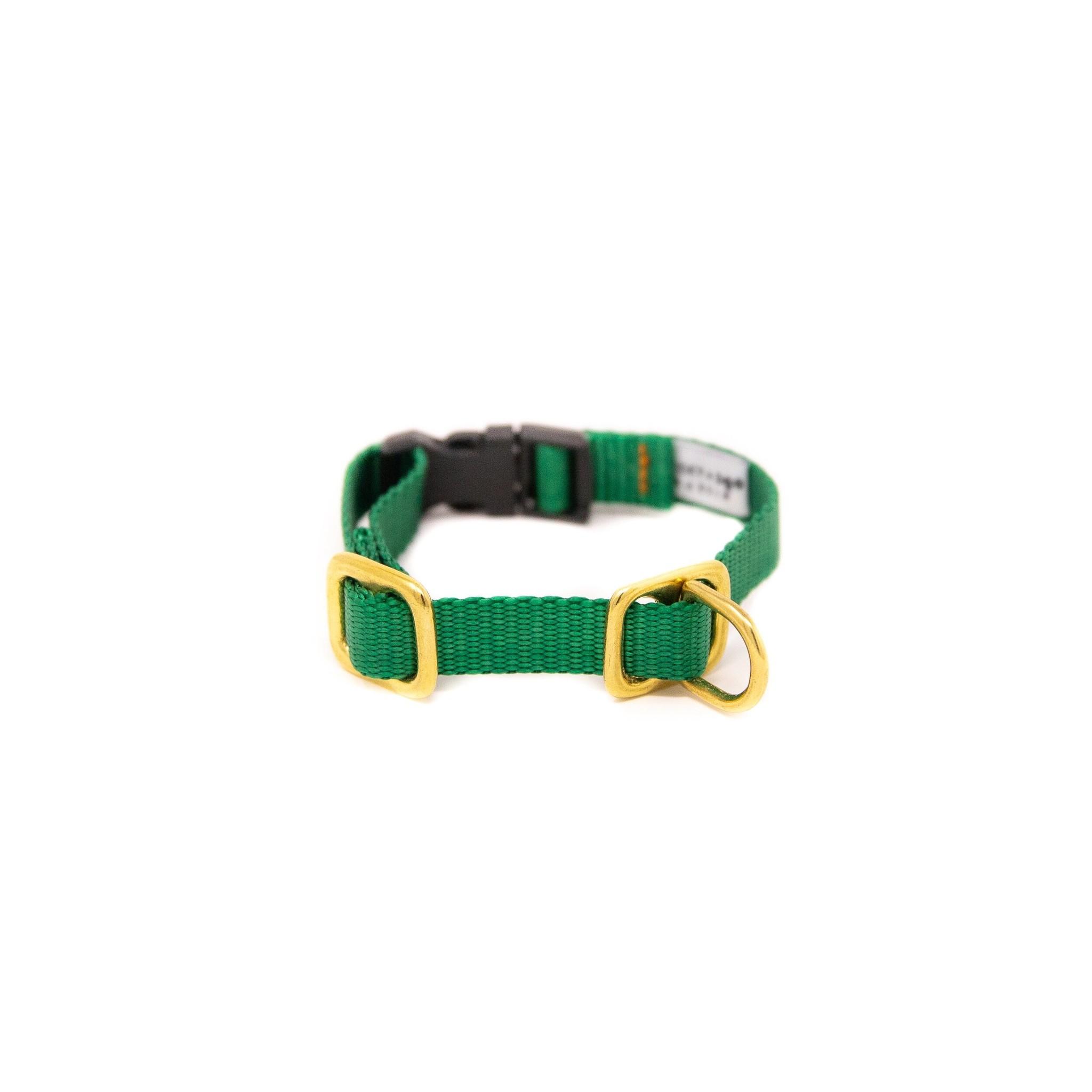 Lucky + Dog Lucky + Dog Puppy Collar Green SM