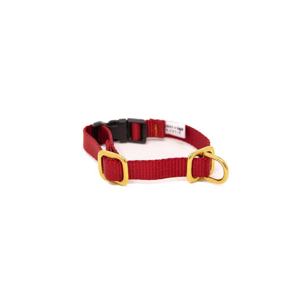 Lucky + Dog Lucky + Dog Small Dog Collar Red SM