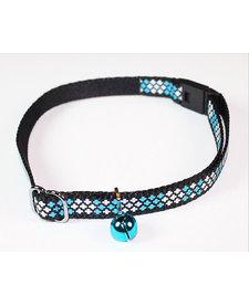 Goli Cross Reflective Cat Collar Blue