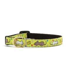 """Up Country Say Cheese Cat Collar 12"""""""