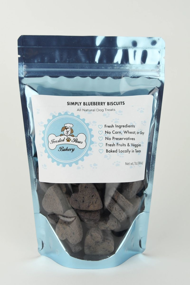 Frosted Paws Frosted Paws Simply Blueberry Biscuits 7 oz