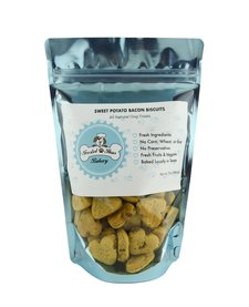 Frosted Paws Sweet Potato Bacon Biscuits 7 oz