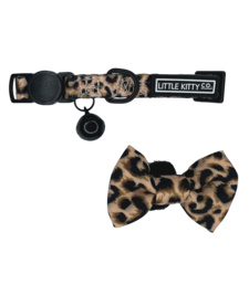 The Little Kitty Co. Cat Collar & Bow Tie