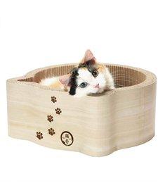 Necoichi Cat Scratcher Bed Birch