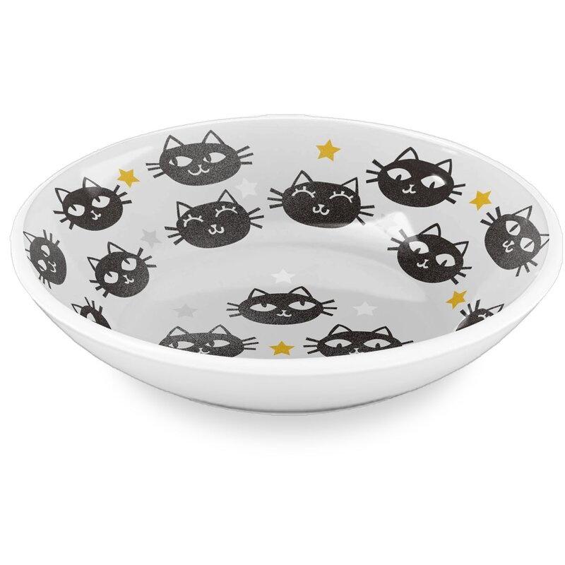 Tar Hong Melamine Inc. TarHong Matt the Cat Saucer