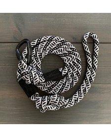 Wilderdog Black & White Leash 5 ft