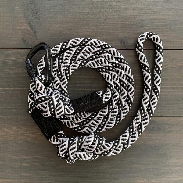 Wilderdog Wilderdog Black & White Leash 5 ft