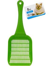 Cat Love Litter Scoop Green