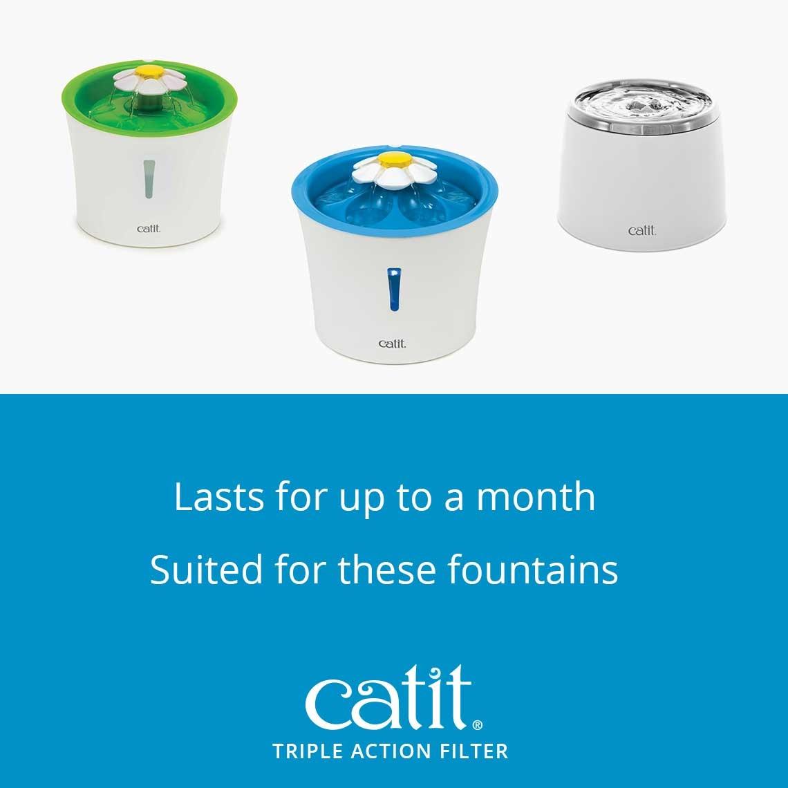 Catit Catit Flower Fountain Filter 2 pack