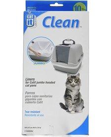 Catit Clean Litter Liner Jumbo 10 pack