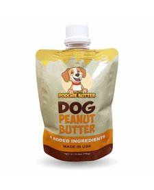 Poochie Butter Dog Peanut Butter Squeeze Pack 6.2oz