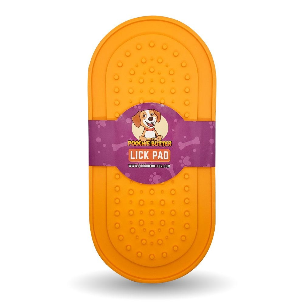 Dilly's Poochie Butter Poochie Butter Lick Pad w/ Suction Cup