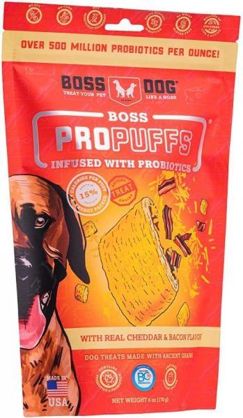 Boss Dog Boss Dog ProPuffs Cheddar Bacon 6 oz