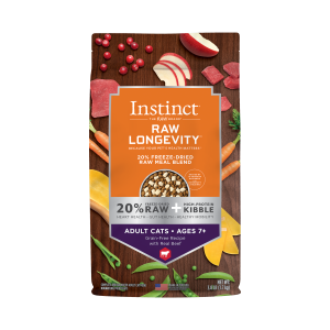 Instinct (Nature's Variety) Instinct Longevity Adult Cat 7+ Beef 3.8 lb