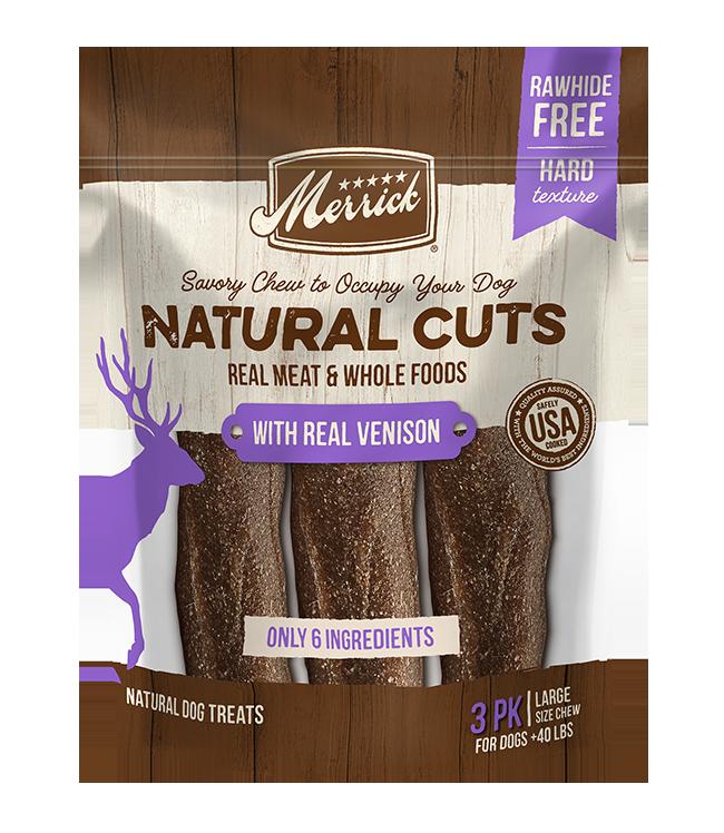 Merrick Merrick Natural Cuts Venison Large 10.9 oz
