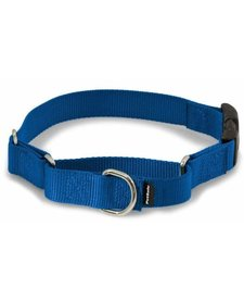 "Martingale Quick Snap Collar, Royal Blue M 3/4"""