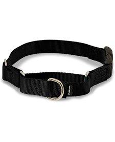 "Martingale Quick Snap Collar, Black S 3/4"""