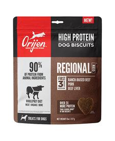 Orijen High Protein Biscuits Regional Red 8 oz
