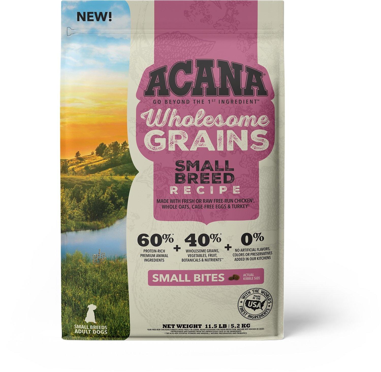 Acana (Champion) Acana Wholesome Grains Small Breed 4 lb
