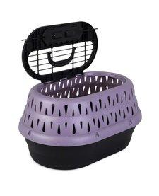 Petmate Top Load Cat Kennel Grape