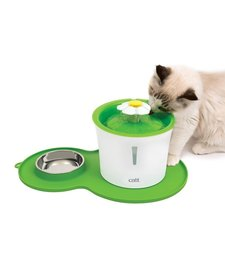 Catit Flower Fountain Senses 2.0 and Placemat Kit
