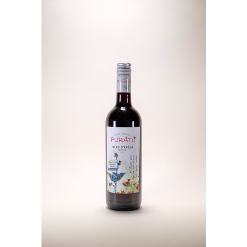 Purato, Nero D'Avola, 2018, 750 ml
