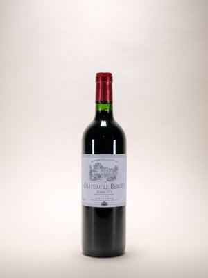 Chateau Bergey, Bordeaux Rouge, 2018, 750ml