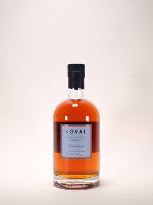 Koval, Four Grain Single Barrel Whiskey, 750ml