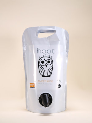 Hoot Amber, Organic Pouch, 1.5L, 2019