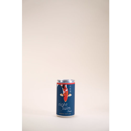 Tozai, Night Swim, Futsu Sake, 187 ml CAN