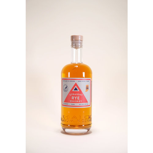 Cardinal Spirits, Straight Rye Whiskey, 750ml