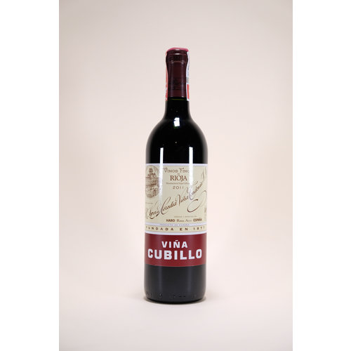 Lopez de Heredia, Vina Cubillo Crianza, 2011, 750 ml