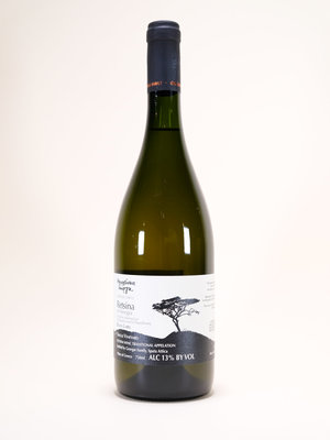 Georgas Family, Retsina Black Label, 2019, 750 ml