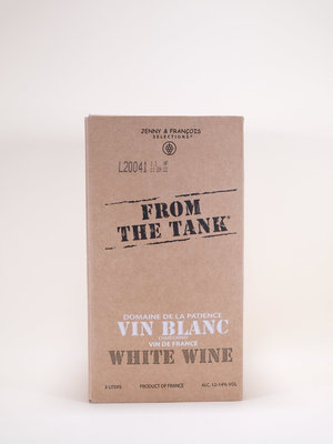 Domaine de la Patience, From the Tank, Chardonnay, NV, 3L BOX