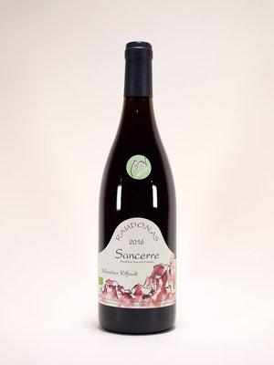 Sebastien Riffault, Sancerre Rouge, Raudonas, 2016, 750 ml