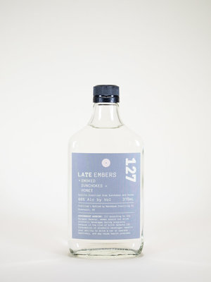 Matchbook Distillery, Late Embers, Smoked Sunchokes, 375 ml