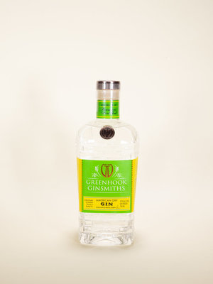 Greenhook Ginsmith, American Dry Gin, 750ml