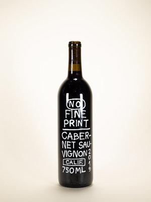 No Fine Print, Cabernet Sauvignon, 2019, 750 ml