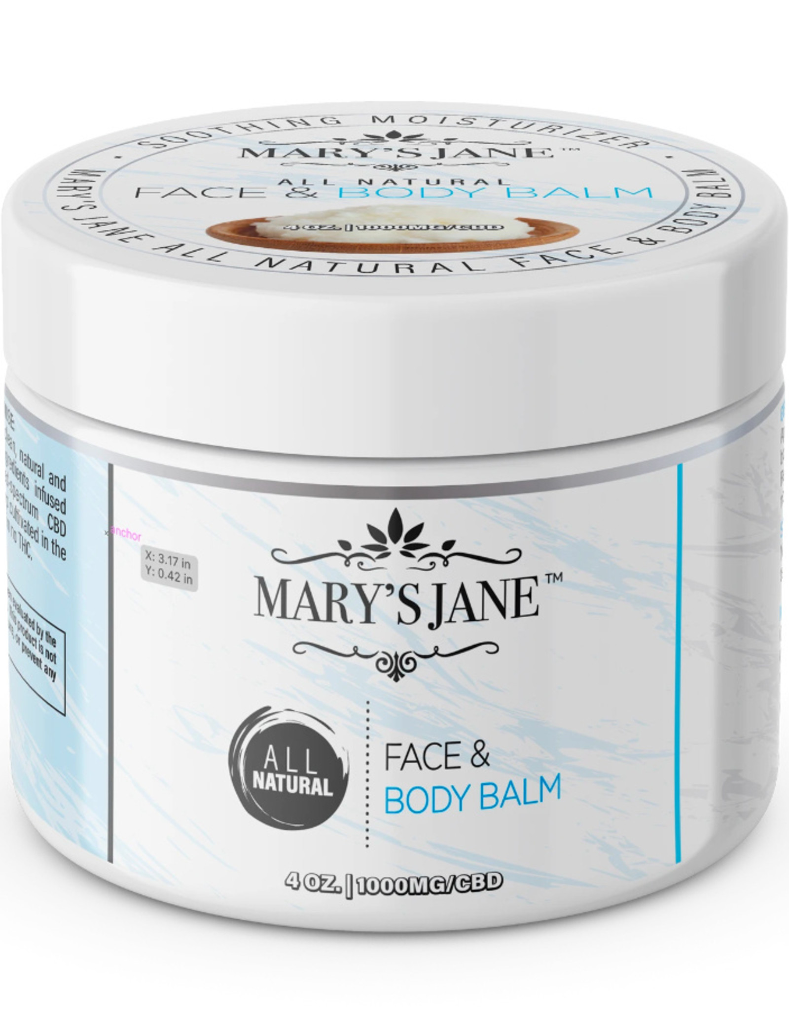Mary's Jane Face + Body Balm - CBD