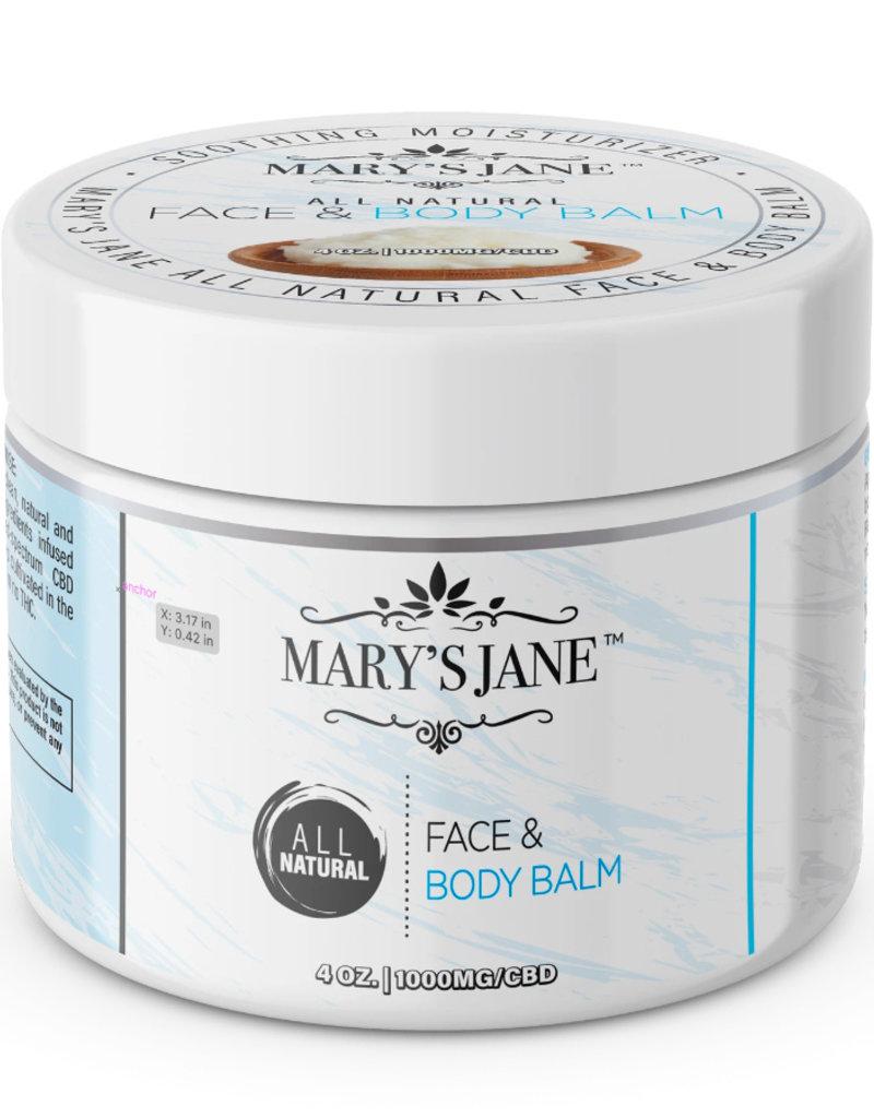 Mary's Jane Face + Body Balm - CBD