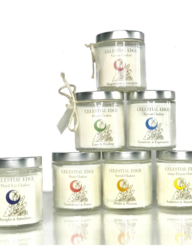 The Celestial Edge Reiki Infused Chakra Balancing Candles