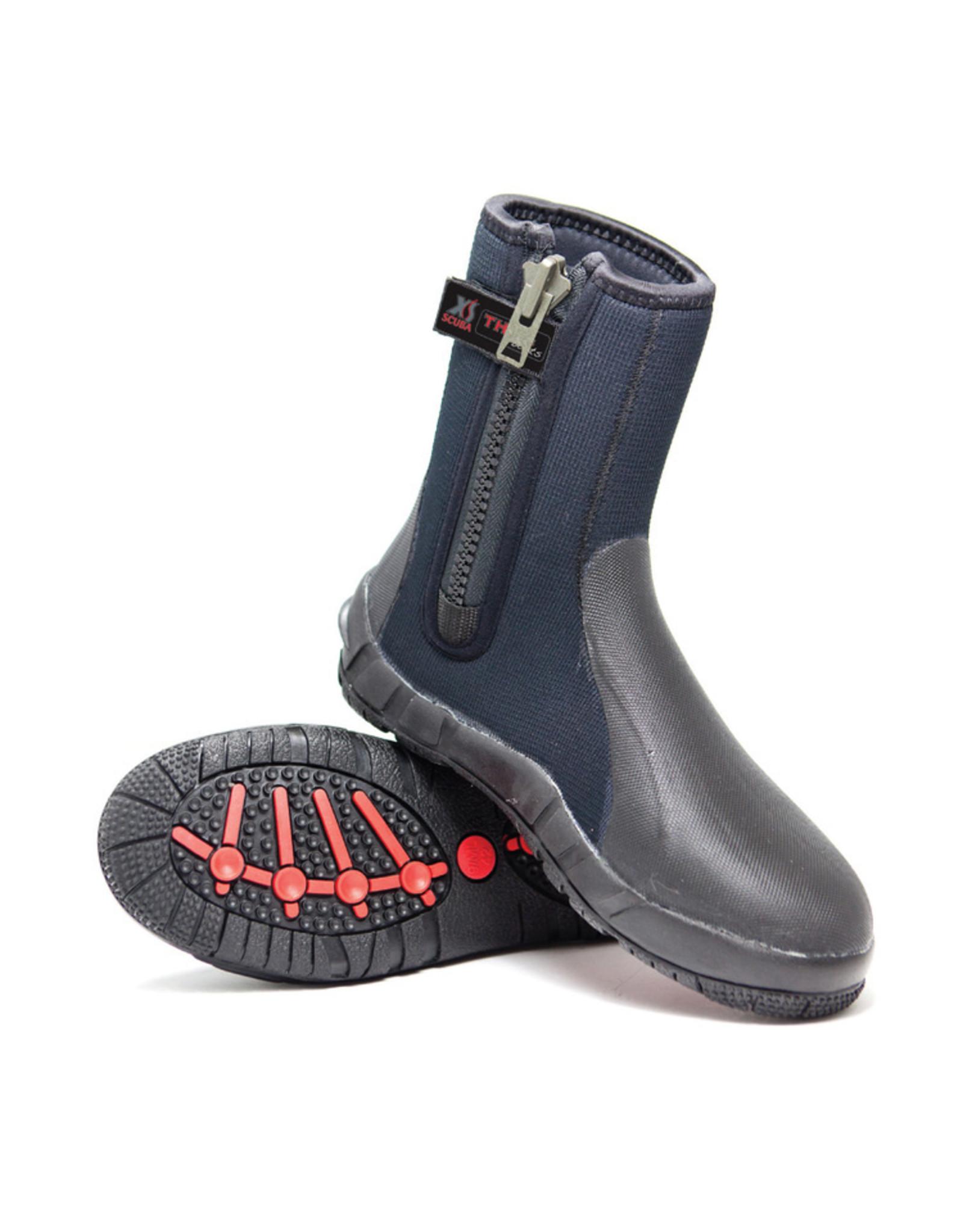 XS SCUBA XS Scuba 8mm Thug Zipper Boots -
