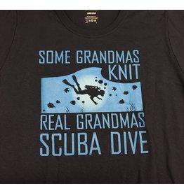 Bamboo Reef Real Grandma Diver T-Shirt