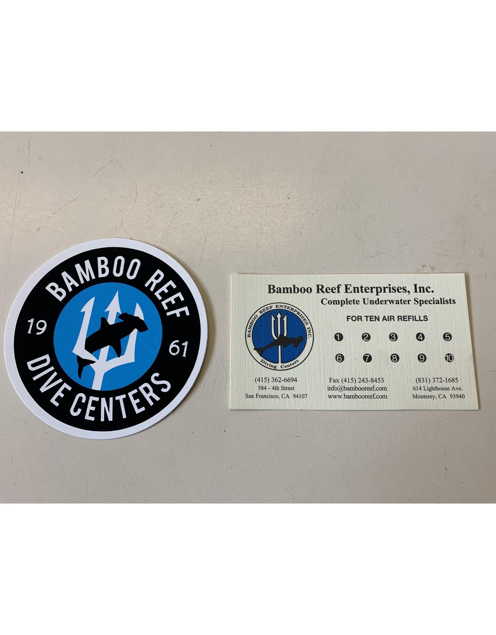 Bamboo Reef Air Fill Card - 10 Fills