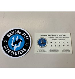 Bamboo Reef Air Fill Card - 10 Fills