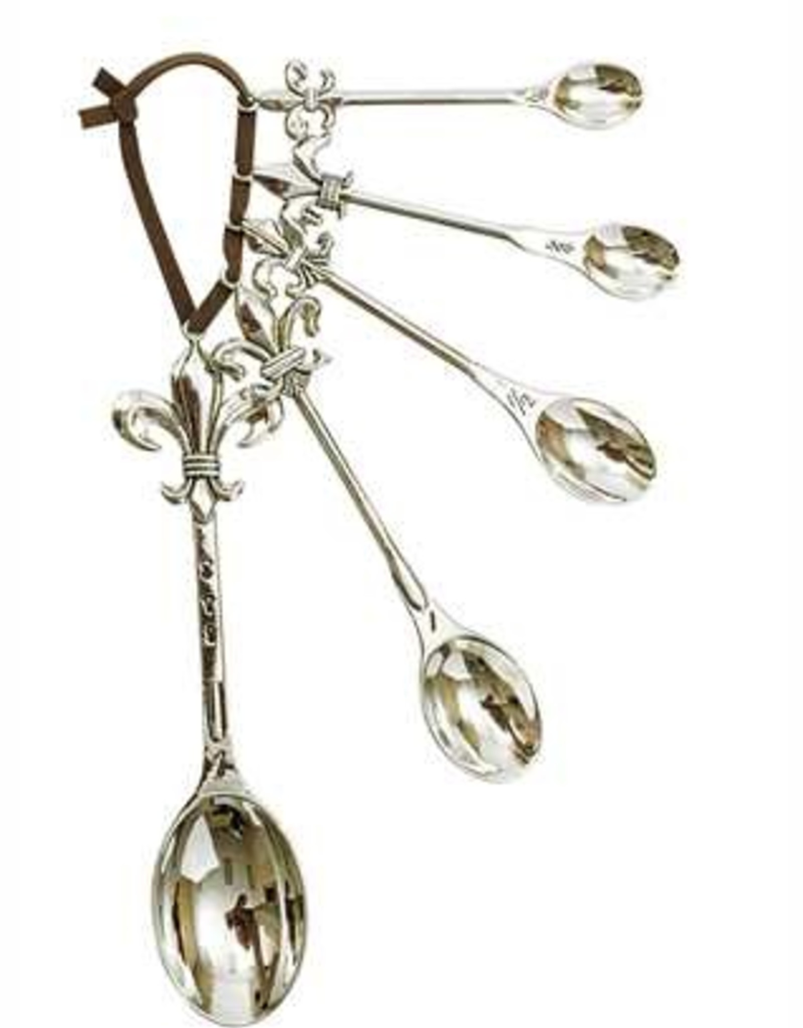 Creative Co-Op Fleur de Lis Measuring Spoons