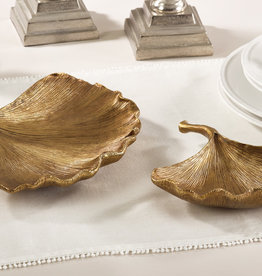 Saro Ginko Leaf Plate/Lg