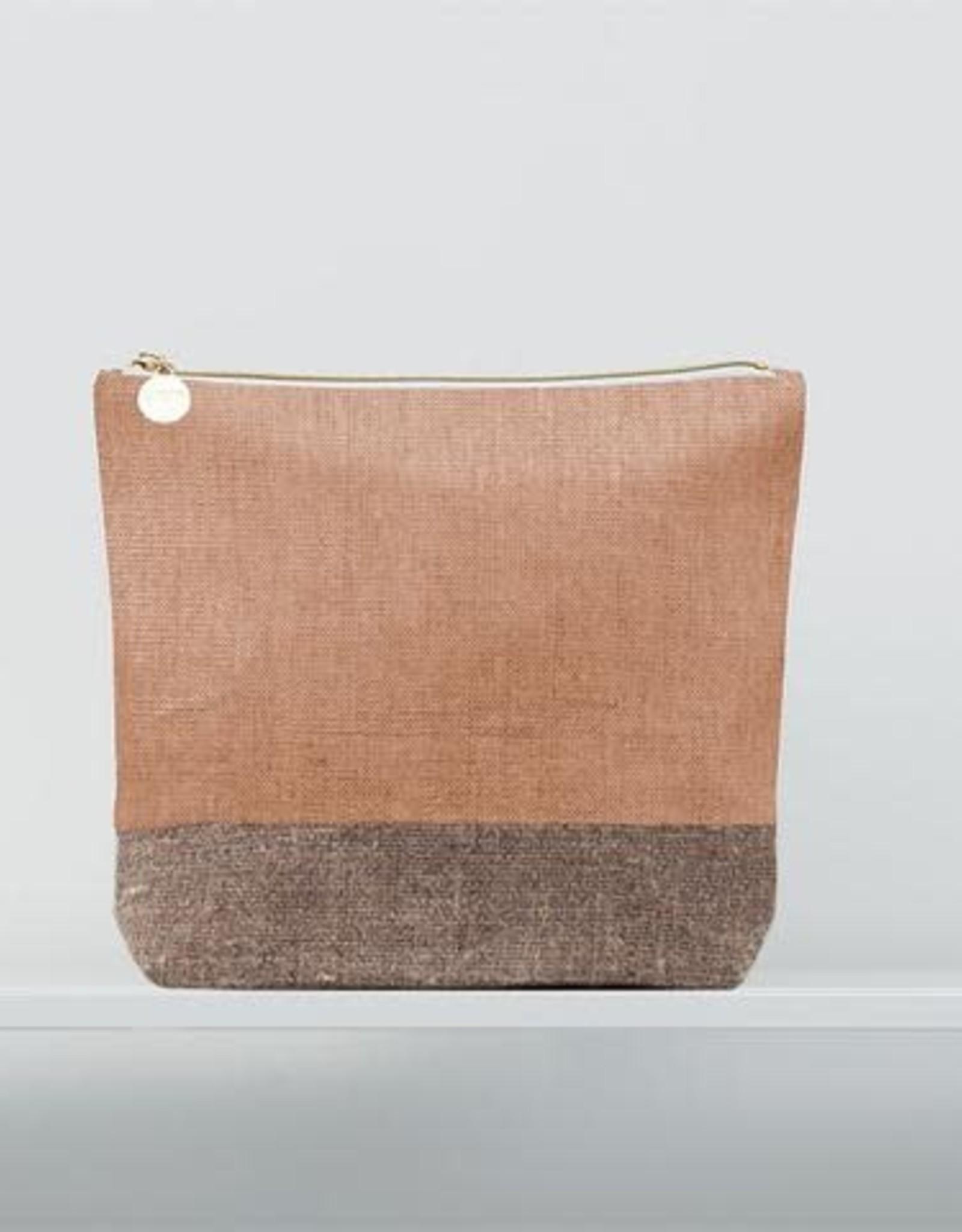 Christen Maxwell Petra Burlap/Linen  Bag