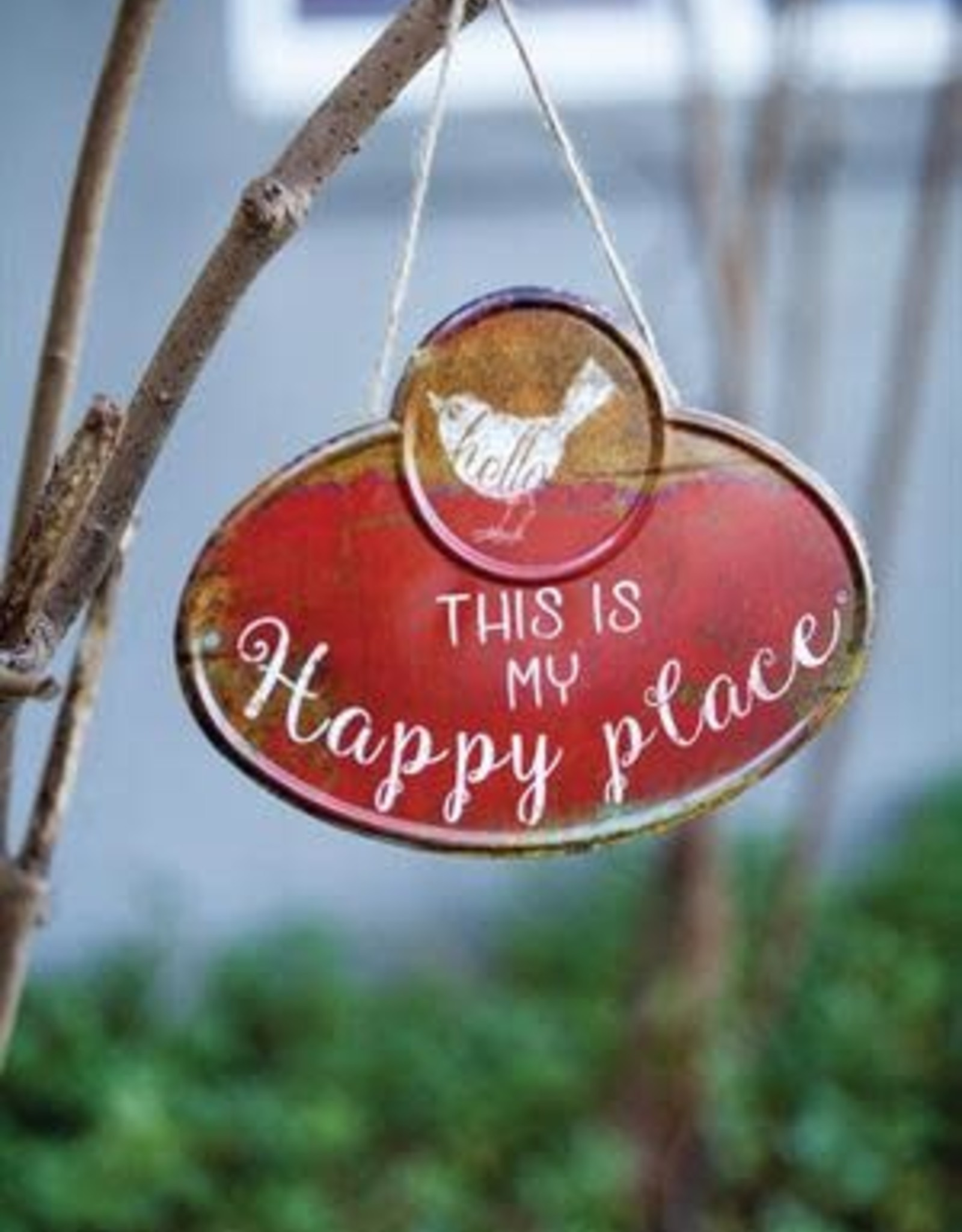 Manual My Happy Place Sign